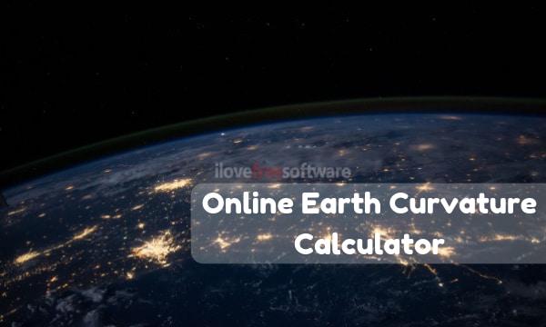 5 Online Earth Curvature Calculator Websites Free