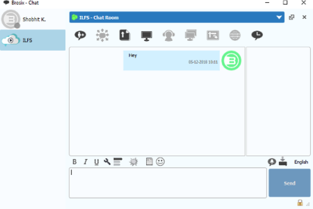Brosix: free p2p chat client for Windows