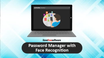 password manager with face recognition