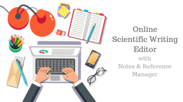 Online Scientific Writing Editor with Reference Manager