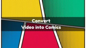 Convert Video to Comics Online