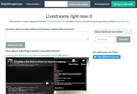 live programming streams
