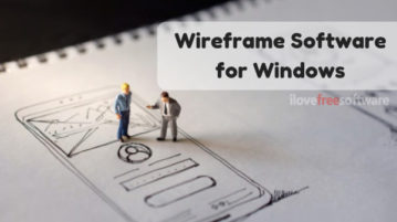 4 Free Wireframe Software for Windows