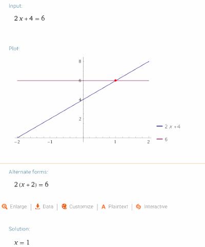Wolframalpha calculation steps