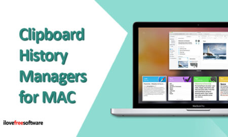 5 Free Clipboard Manager MAC Apps to Keep Track of Clipboard History