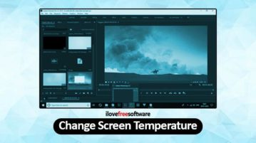 Change Screen Temperature