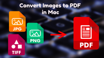 Convert Images to PDF in Mac