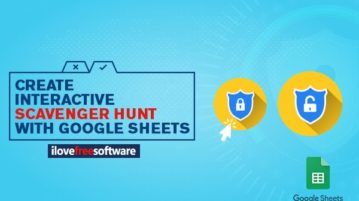 Create Interactive Scavenger hunt with Google Sheets