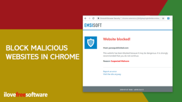 Emsisoft Browser Security chrome