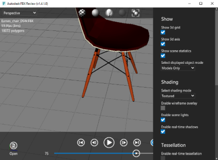 free fbx viewer software for Windows