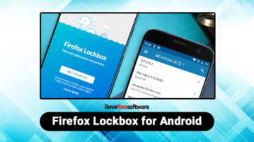 Firefox Lockbox Android App to Access Passwords without Firefox Browser