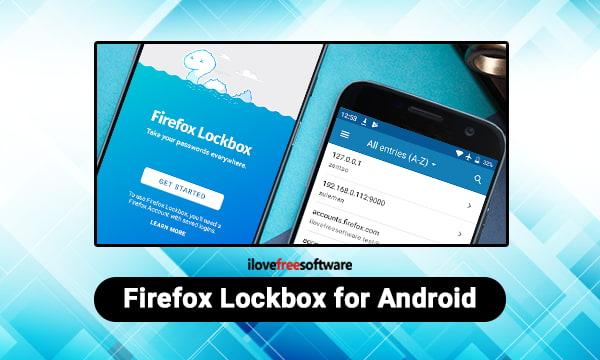 Lockbox Firefox