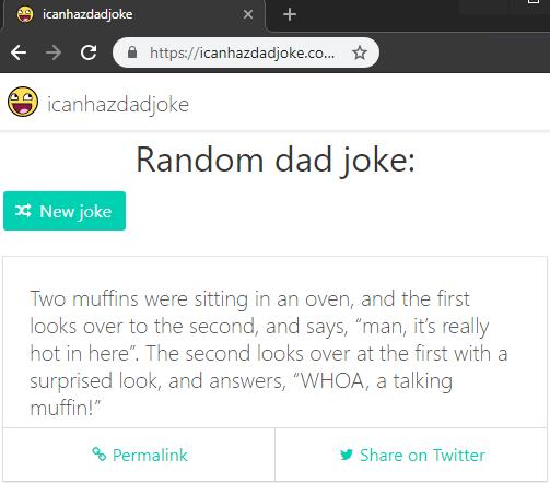 Free API to Get Random Joke of the Day