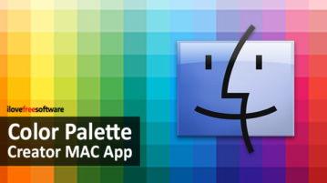 Free Color Palette Creator MAC App to Remember Color Schemes