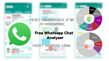Free Whatsapp chat Analyzer