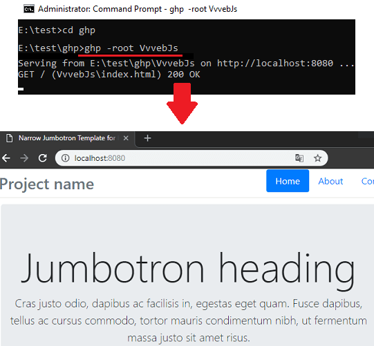 How to Host GitHub Pages Locally