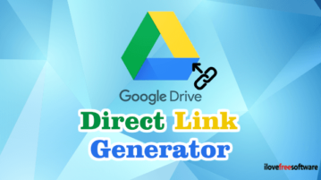 Generate Direct Download Link In Google Drive from Right Click Menu