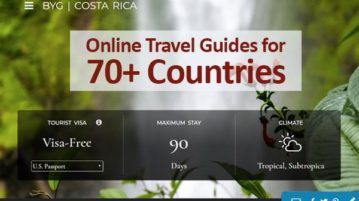 Online travel guides for 70+ countries