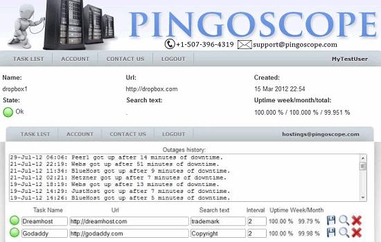Pingoscope