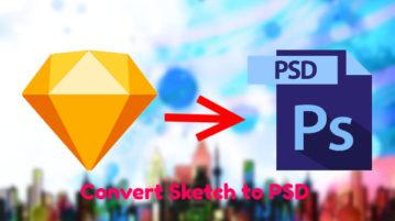 Sketch to PSD Converter