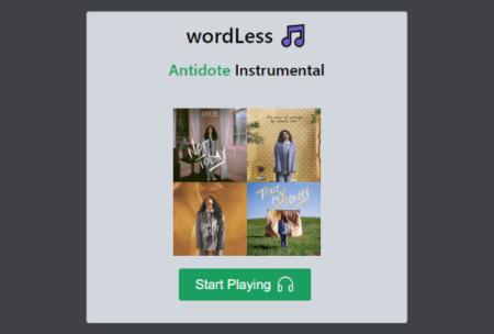 make instrumental playlist of Spotify playlist
