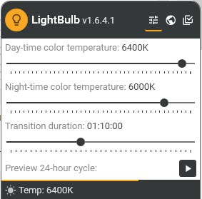 Use blue light filter using this application