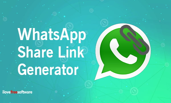 Free WhatsApp Share Link Generator to Quickly Share Messages