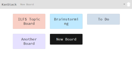 blockchain-based decentralized kanban board - add board