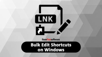 bulk edit shortcuts on windows