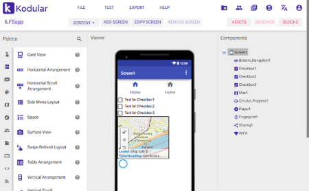 Create Android App Online without Coding: Kodular