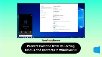 disable cortana from accessing emails, contacts