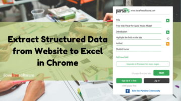 How to Extract Structured Data from Websites to Excel in Chrome