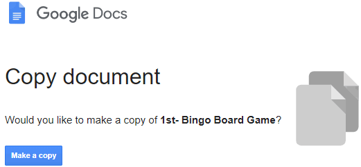make copy of google docs document before viewing it
