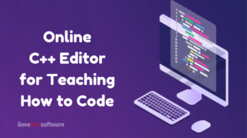 Free Online C++ Editor for Teaching How to Code