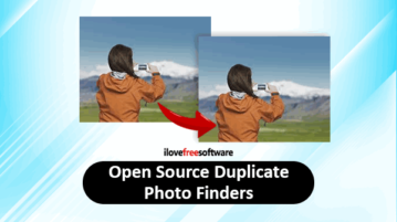 open source duplicate photo finder software