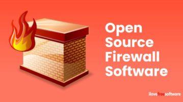 open source firewall software