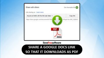share google docs link so it downloads as pdf