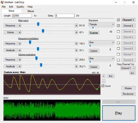 free sound effect creator software