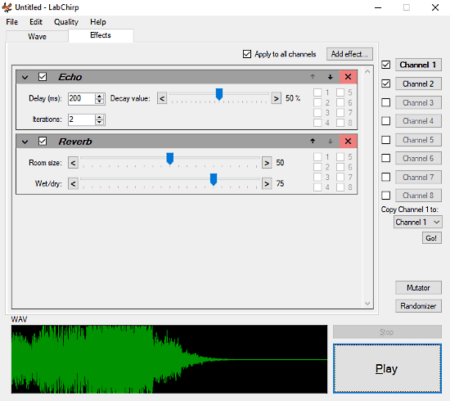 create sound effects with this free software