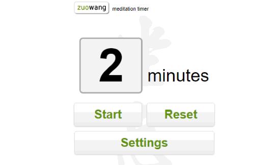 zuowang Meditation timer