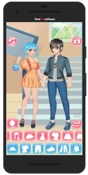 4 Free Anime Couple Creator Android Apps
