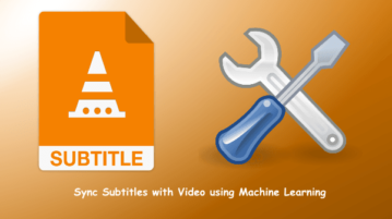 Automatically Sync Subtitles with Video using Machine Learning
