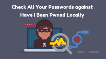 How To Check All Your Passwords against Have I Been Pwned Locally