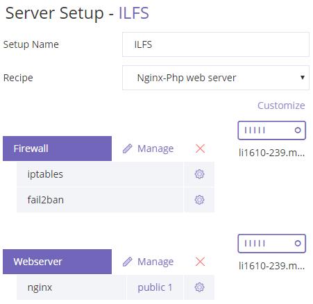 ClusterCS server setup