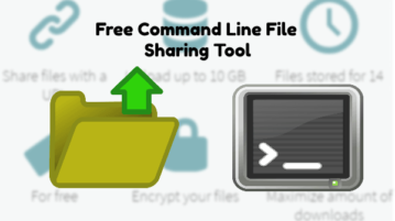 Command Line File Sharing Tool
