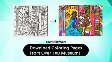 Download coloring Pages From Over 100 Museums