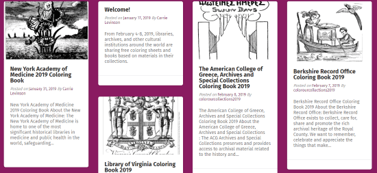 Download colring Pages From Over 100 Museums