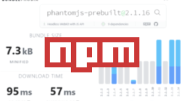 Download size of any Package in NPM Registry