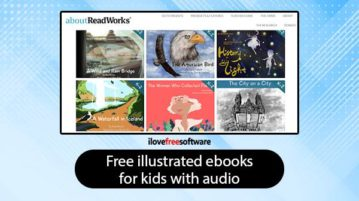 Free Illustrated eBooks For Kids With Audio