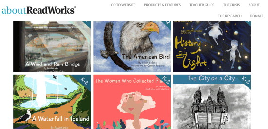 Free Illustrated eBooks For Kids with Audio by ReadWorks
